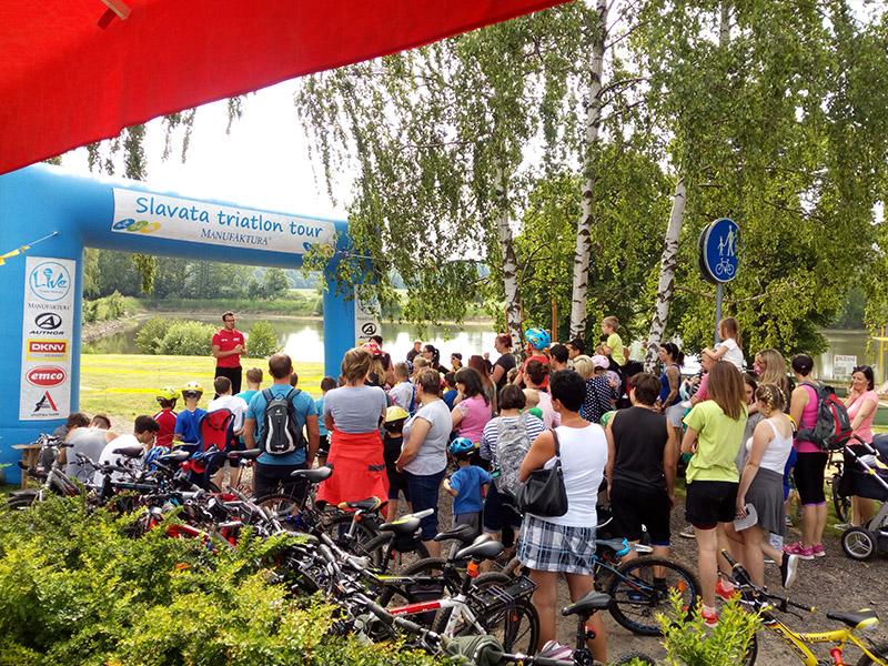 Cyklo závod U Roštěnky
